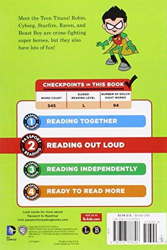 Teen Titans Go, Passport to Reading, Level 2: Meet the Teen Titans