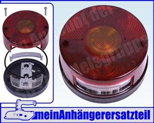 Preisvergleich Produktbild DDR Rückleuchte Rücklicht rund mit KZL z.B. für DDR Anhänger & IFA Fahrzeuge