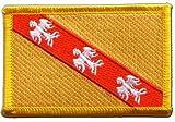 Flaggen Aufnäher Frankreich Lothringen Fahne Patch +