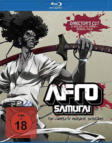 Afro Samurai - The Complete Murder Sessions [Blu-ray] [Director's Cut]