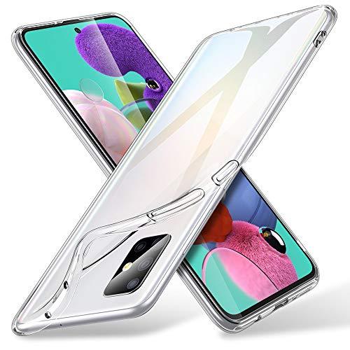 ESR Funda Transparente para Samsung A51 Essential Zero Slim de Suave TPU Carcasa, Suave y Flexible Case de Silicona Case Compatible con Samsung Galaxy A51 4G 2020