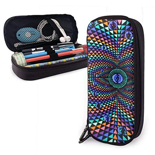 Estuche para lápices de gran capacidad, multifuncional, bolsa de almacenamiento, bolsa de almacenamiento, bolsa de maquillaje, para oficina, escuela, viajes