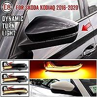 AL LED ダイナミック ターンシグナルライト 対応車種: シュコダ コディアック 2016-2020 バックミラー サイド ミラー シーケンシャル AL-JJ-6856