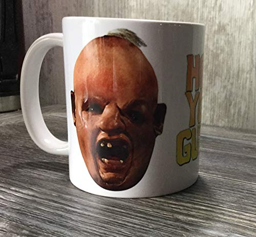 The Goonies Sloth Face and Hey You Guys Quote Mug
