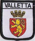 Valletta Malta Flagge Bestickt Patch Badge