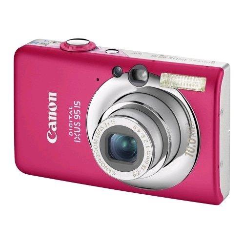 Canon Digital IXUS 95 IS - Cámara Digital compacta (Pantalla de 6,4 cm (2,5 Pulgadas), 10 MP, Zoom óptico de 3 aumentos, estabilizador de la Imagen)