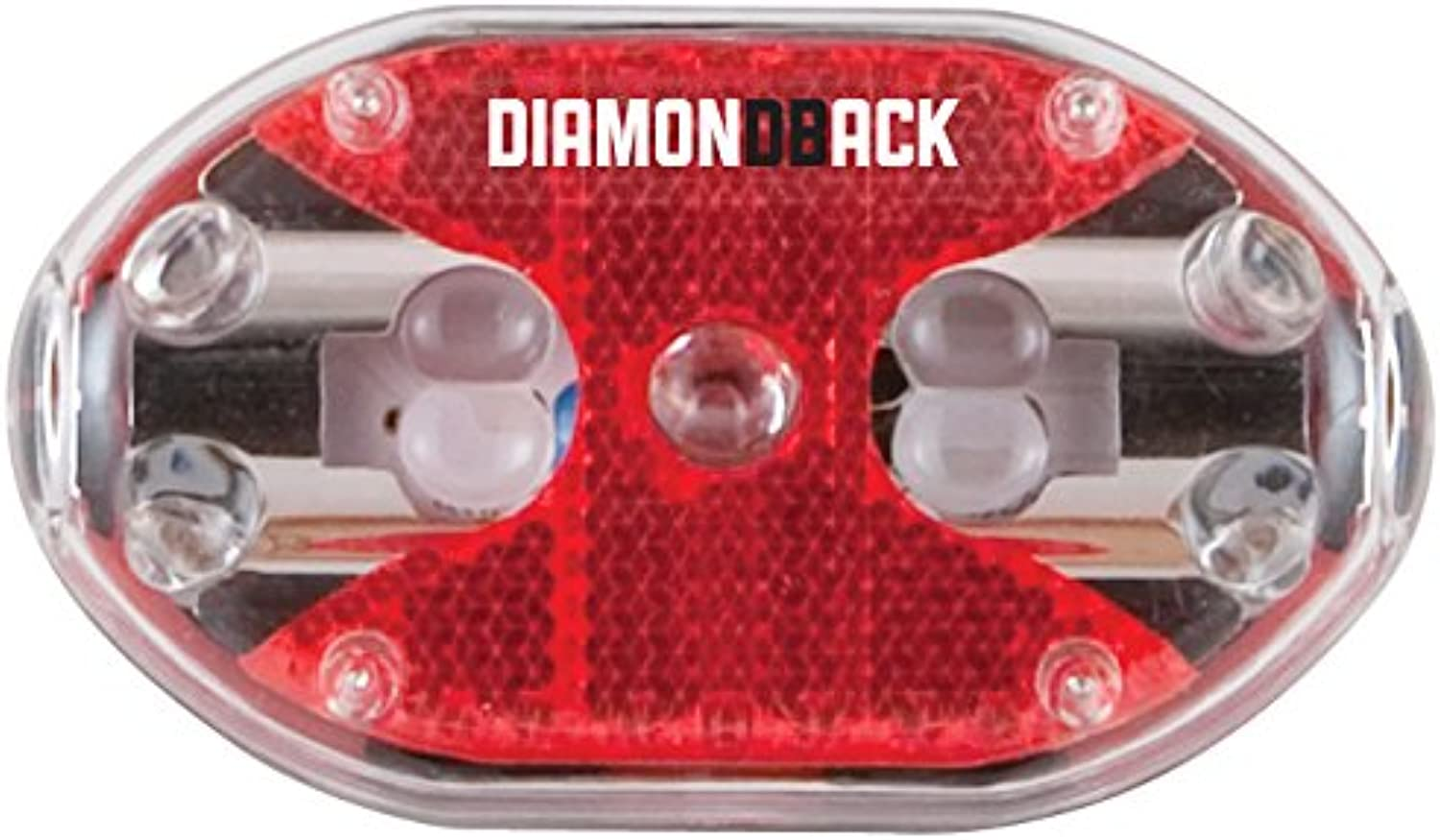 Diamondback Reflect 5 Led Bicycle Taillight, Red