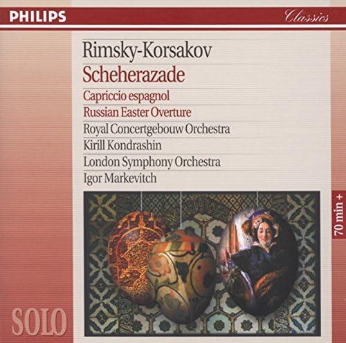 Herman Krebbers, Royal Concertgebouw Orchestra, Kirill Kondrashin, London Symphony Orchestra & Igor Markevitch
