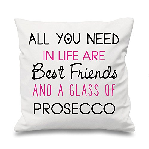 60 Second Makeover Limited 'Blanc Coussin All You Need en Life are Amis et Un Glass of Champagne 16 \
