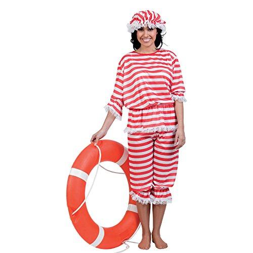 Disfraz de nadadora de 1920; único tamaño; Aptafêtes cs925923SM