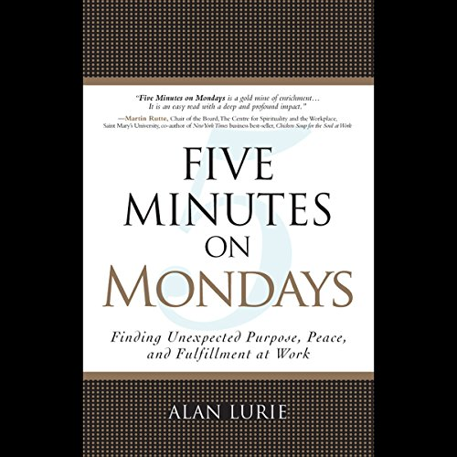 Five Minutes on Mondays audiobook cover art