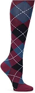 Nurse Mates Women`s Compression Trouser Sock Argyl