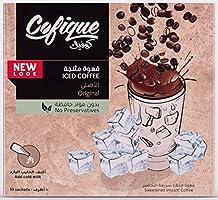 Cofique Iced Coffee Original, 10 Sachets x 24 gm (Pack of 1)
