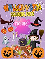 Halloween Coloring Book For Kids Ages 2-4: A Fun and Precious Halloween Coloring Book For Kids, Halloween Gift for Kids.
