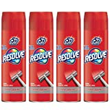 Resolve High Traffic Carpet Foam, 22 oz Can, Cleans Freshens Softens & Removes Stains (Pack of 4)