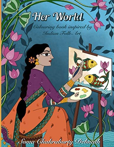 Her World An Adult Colouring Book For Women Girls and Seniors An Artist quality Relaxing Art product image