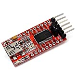 CoCocina 3Pcs Ft232Rl Ftdi USB to TTL Serial Converter Adapter Module Geekcreit for Arduino - Products That Work with Official Arduino Boards