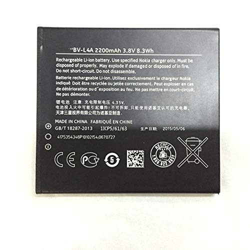 Nokia - Bateria Original Nokia BV-L4A para Nokia Lumia 830, 2200mAh, Bulk