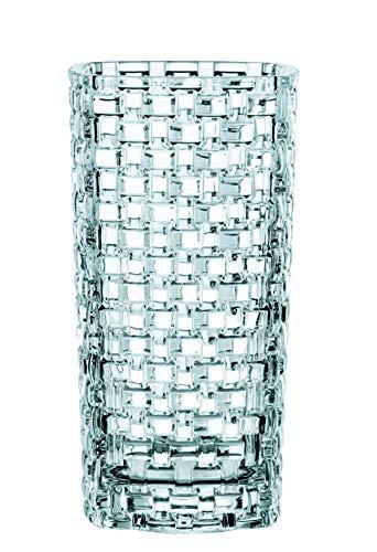 ナハトマン(Nachtmann) ボサノバ オーバルフラワーベース クリスタルガラス 28cm 80729 1個入