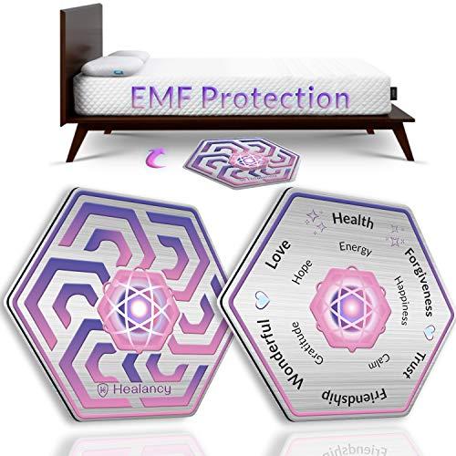 Healancy Biomedical - Almohadilla especial para dormir bien y saludable: protege contra las disturbias del sueño y los difficultores, si se cae al electrosmog para camas de hasta 120 x 220 cm.