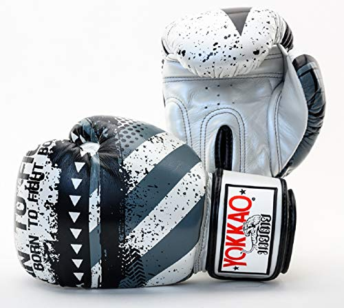 YOKKAO Designer Muay Thai Boxing Gloves Breathable Leather