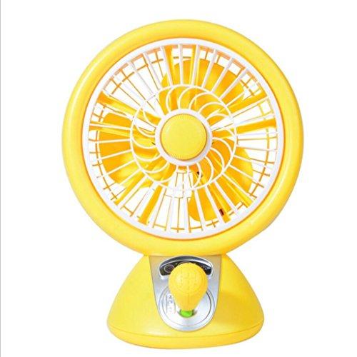 Miaoge Mode Rad Desktop Drehschieber große Wind Mute Mini USB Fan 20*25*13cm