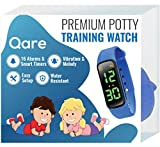 Premium Potty Training Watch - Only Watch with Multiple Alarms (16) to Fit Your Schedule & Easy to Use Smart Timer - Water Resistant - Both Vibration & Music - Kids Lock - Touchscreen-Easy Use (Blue)