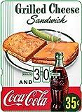 Calendario perpetuo Coca-Cola: Grilled Cheese Sandwich and Coca-Cola 35