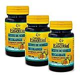 Aceite de semilla de calabaza 500 mg. 50 perlas (Pack 3 unid.)