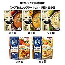【Amazon.co.jp限定】 カゴメ 電子レンジで簡単調理 スープ&おか...
