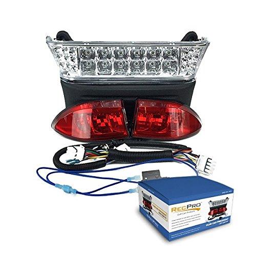 RecPro Club Car Precedent Electric Golf Cart All LED Light Kit 2004-2008.5