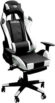 Vaiko Race Chair - Silla de Oficina giratoria con reposapiés