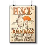 Joan Baez & The Grateful Dead Vintage A0 A1 A2 A3 A4 Satin