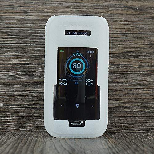 ORIN Protector de Silicona Caso para Vaporesso Luxe Nano 80W Box Kit Mod Silicona Manga Caso Cubrir Piel Cover Skin Case(Translúcido)