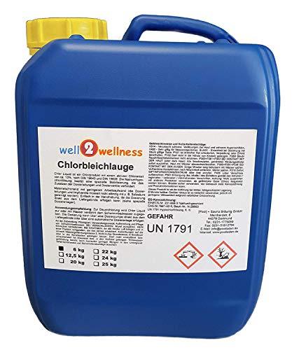 Chlorbleichlauge stabilisiert Chlor
