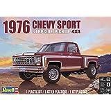 アメリカレベル 1/24 76 シェビー スポーツ ステップサイドピックアップ プラモデル 14486