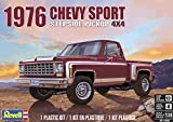 Revell-1976 Chevy Sport Stepside Pickup 4X4 Monogram Modelo Kit de...
