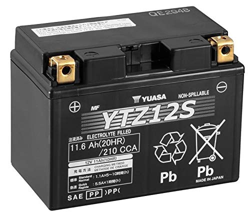 Batteria YUASA YTZ12-S YTZ12S Gel