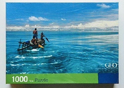 Geo Puzzle 1000 - Südsee (Limitierte Auflage).