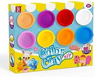 Color Dough Clay Mud Set 8 Colors