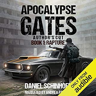 Rapture audiobook cover art