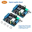Innovateking-EU Bluetooth Amplifier Board 10W 15W 20W Stereo High Power Digital Wireless Audio Amplifier Module 12V//24V with 2 Channels and Protective Shell for 4-16 Ohm Speakers