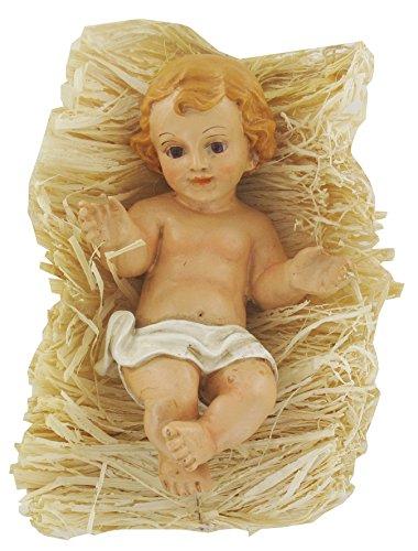 Ferrari & Arrighetti Niño Jesús de cerámica para belén de 31 cm
