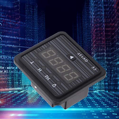 Voltímetro amperímetro con pantalla LCD, 220 V / 380 V, probador de corriente 3 en 1 y probador de voltaje para generador, pantalla de frecuencia de voltaje, generador GV13T(380V system)
