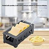 Red tide Portable Formaggio Antiaderente Metallo Raclette Forno, Premium Acciaio al Carbonio Grill Piatto, Rotaster Teglia Stufa Set Home Kitchen Cuociono L'attrezzo