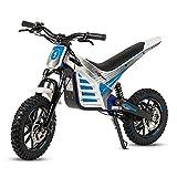 ECOXTREM Moto Cross eléctrica Infantil, Color Azul.