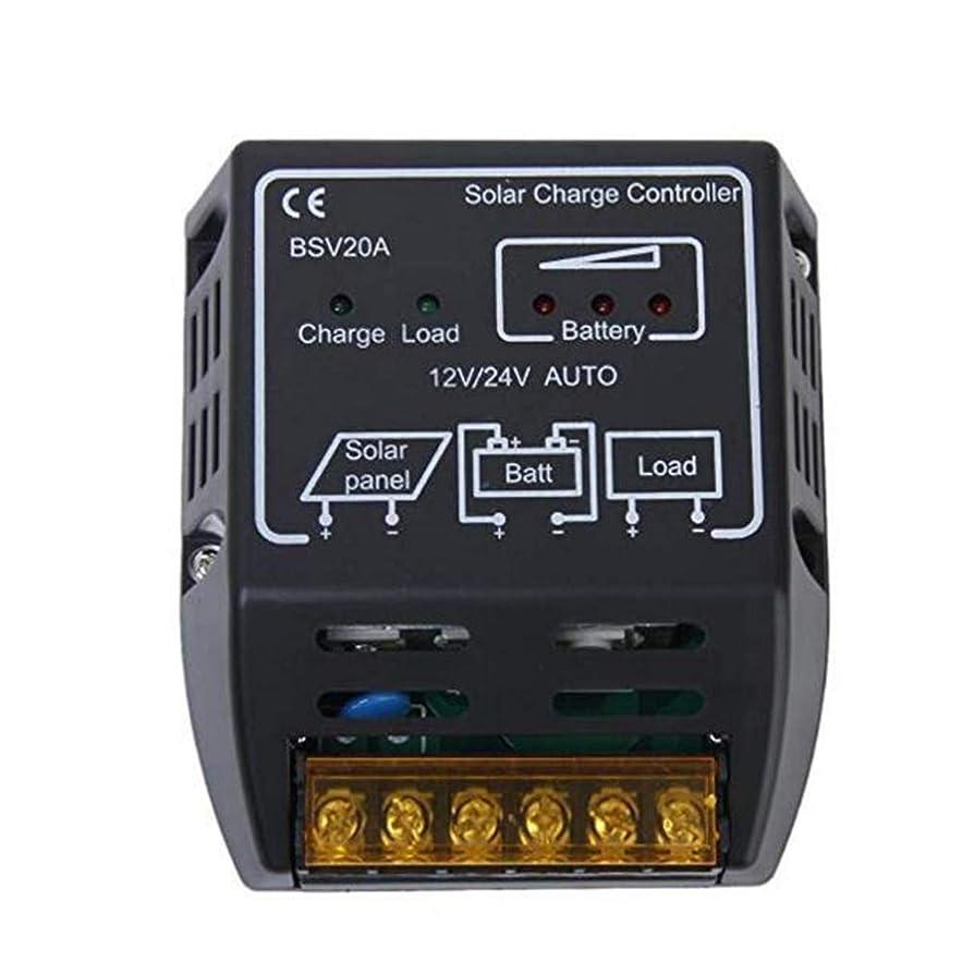 メンバー溶岩普遍的なRen He チャージコントローラー ソーラーパネル 20A 12V 24V ソーラーパネル用 チャージコントローラー 充放電コントローラー