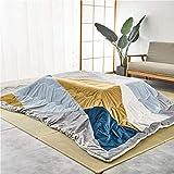 YZPFSD La Mesa de Kotatsu Japonesa con Calentador y Manta, Mesa con colchas de colchas y Estufa de calefacción, se Puede Usar en tapetes de Tatami, más Grueso en Invierno en Japón y Lavable