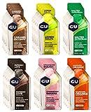 GU Energy Gels - Packung mit 24 Geschmacksrichtungen -