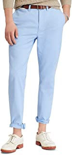 Ralph Lauren Polo Men's Stretch Straight Fit Flat Front Chino Pants
